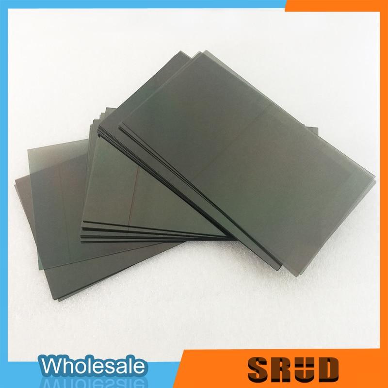 Universal size 4.5 4.7 5.5 5.8 6.1 6.5 inch LCD Polarizer Film For iPhone Samsung LG Motorola LCD Polarized Film enlarge