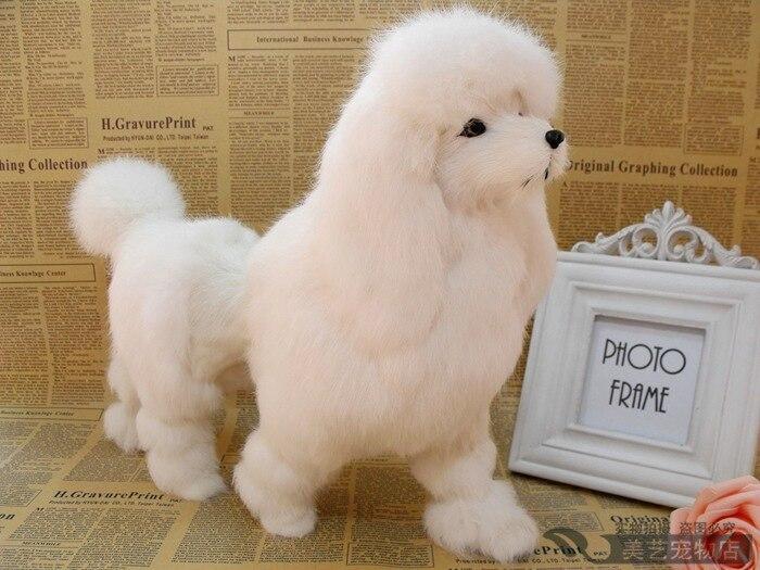 Cerca de 36 Polietileno Peles Simulação Poodle Modelo Engraçado Presente cm x 12 30 &