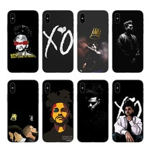 J COLE The Weeknd Starboy Pop Cantor, мягкий силиконовый чехол из ТПУ, чехол для телефона, чехол для iPhone Da X 8 alem de 7 plus 6 5 XR 11