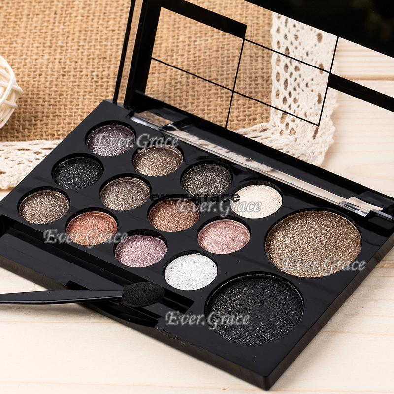 ICYCHEER Neutral Nude 14 Colors Makeup Eye Shadow Shimmer Warm Eyeshadow Palette Pigmented Smoky Silky Kit недорого