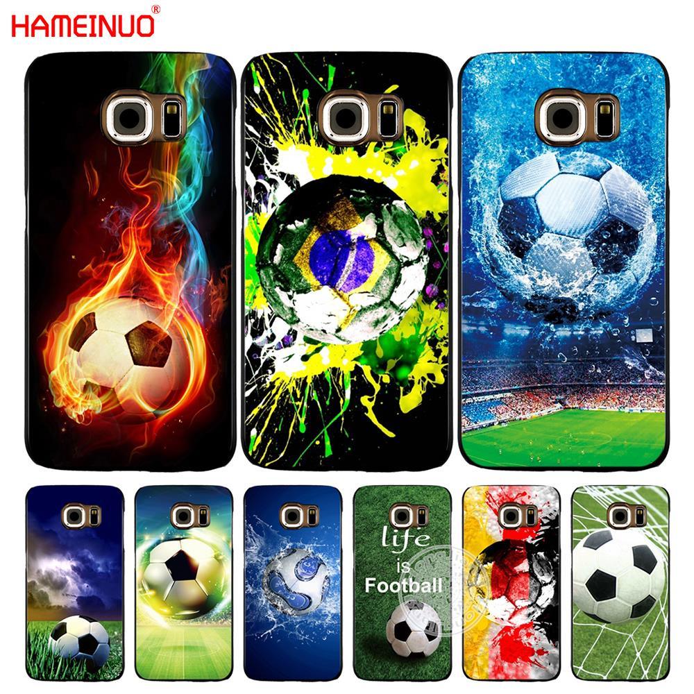 Чехол для мобильного телефона HAMEINUO Футбол Бразилия Германия Швеция для Samsung Galaxy S7 edge PLUS S8 S6 S5 S4 S3 MINI