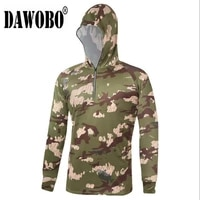 new camouflage outdoor men fishing clothes breathable quick dry anti sai uv anti mosquit long sleeve hooded mens fishing shirts