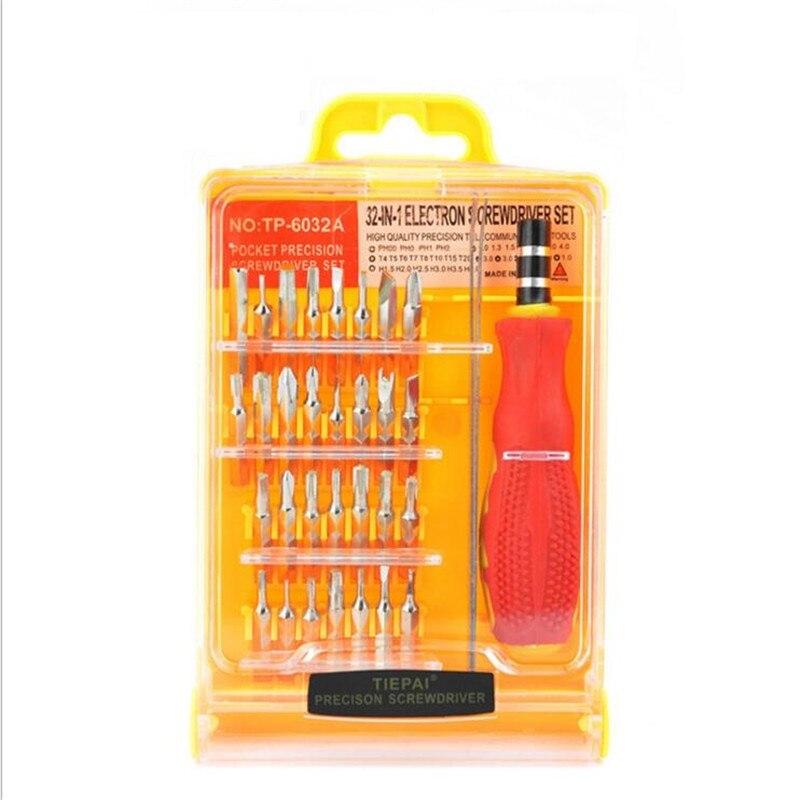 Paiduoji 45 en 1 electrón Torx MIni juego de herramientas con destornillador magnético kit de herramientas de mano de apertura reparar herramientas