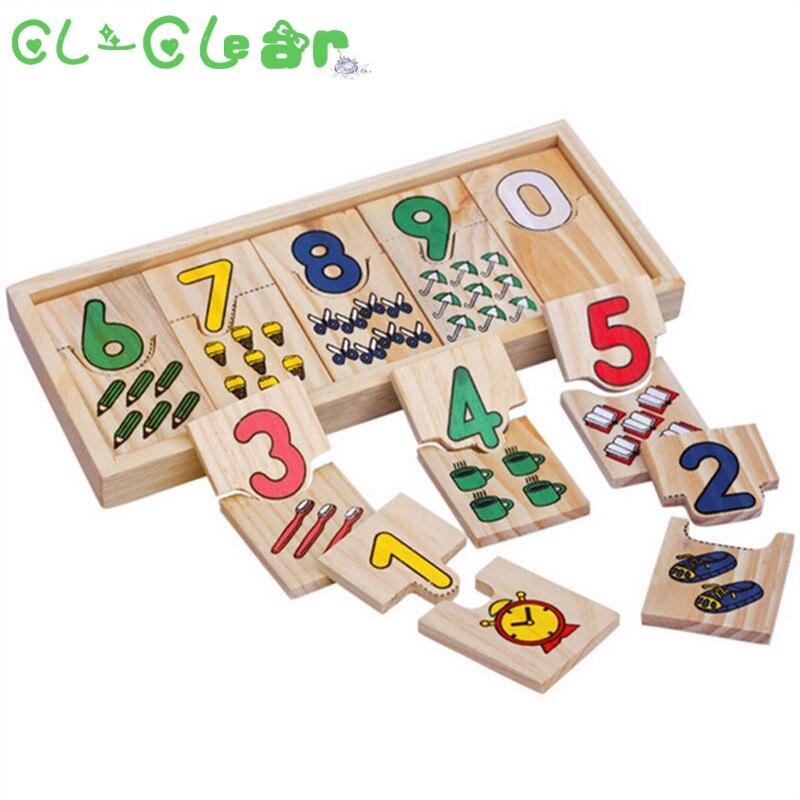 23*9*2cm Montessori Game Childhood Teaching Logarithmic Matching Plate Calculation Digital Mathematical Educational Toys