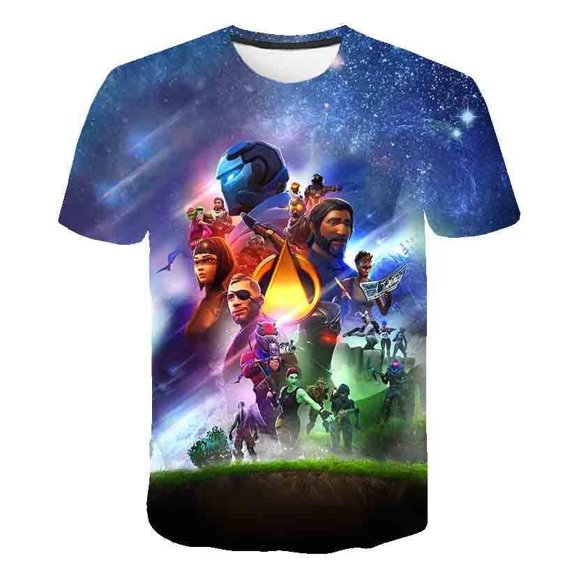 2019 Summer Kids T shirt Boys Clothes Infinity War Superhero Thanos Hulk Tshirts For Girls Children Clothing