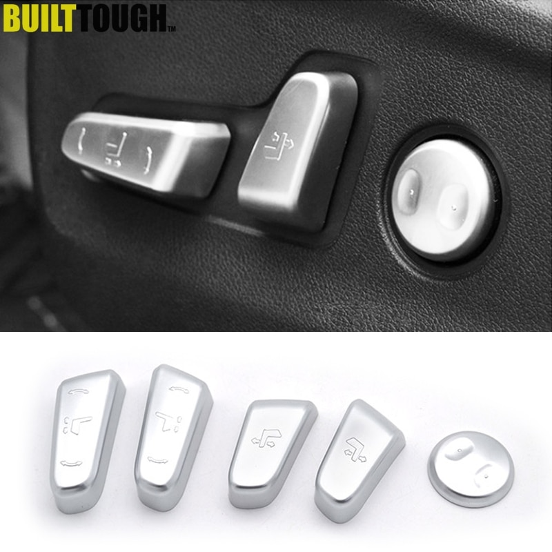 Für Kia Sportage QL 2017-2019 Chrome Interior Sitz Einstellung Schalter Knopf Button Control Abdeckung Trim Zierleisten Auto styling
