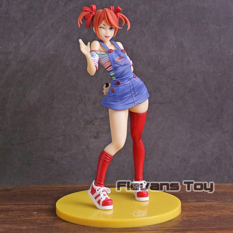 A noiva de Chucky Horror Bishoujo Statue PVC Figura Collectible Toy Modelo