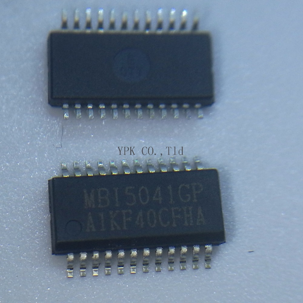 50 Pçs/lote LED DRIVC IC MBI5041GP-A MBI5041GP MBI5041 5041 SSOP/24