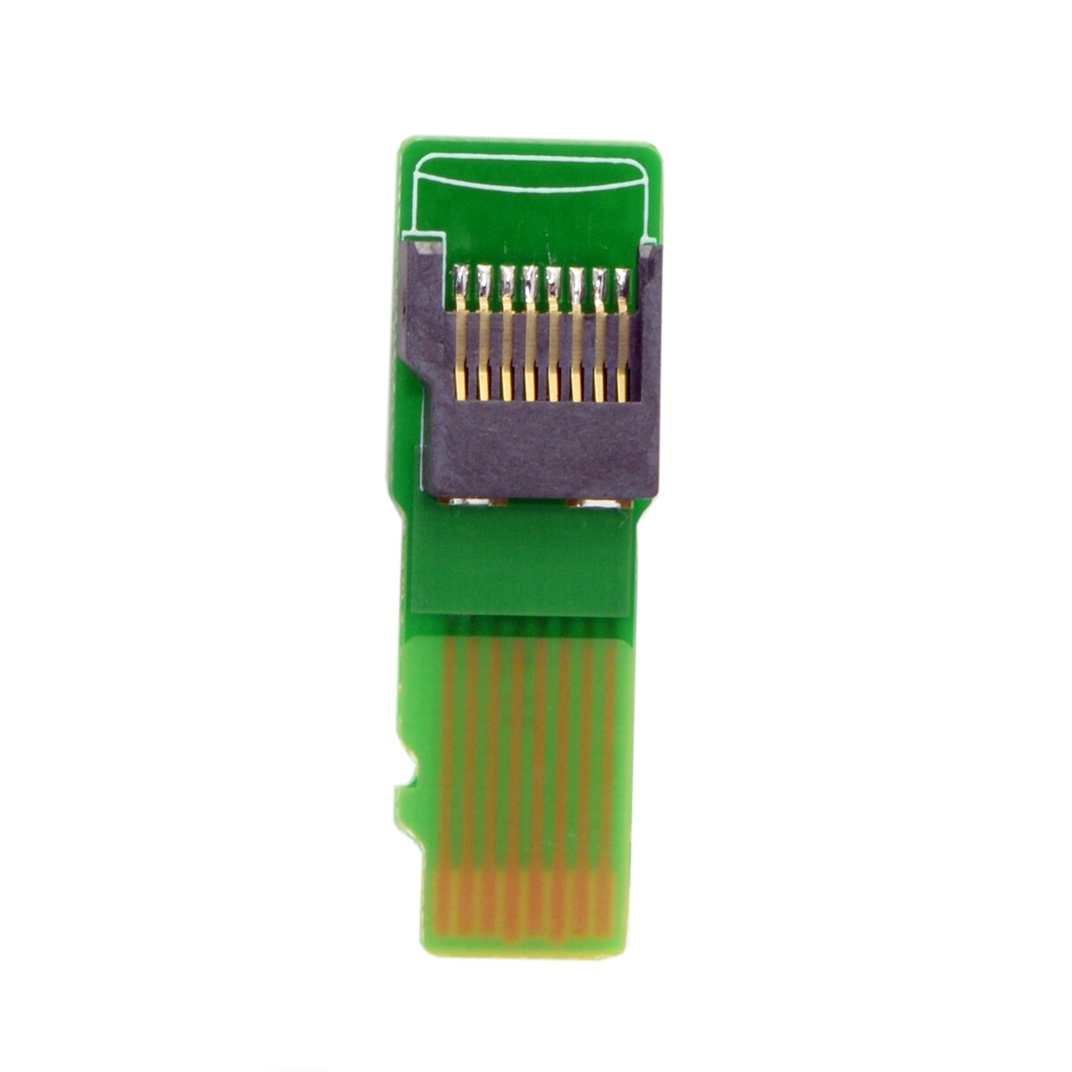CY Micro SD tarjeta de memoria TF Kit extensión de macho a hembra adaptador extensor herramientas de prueba PCBA