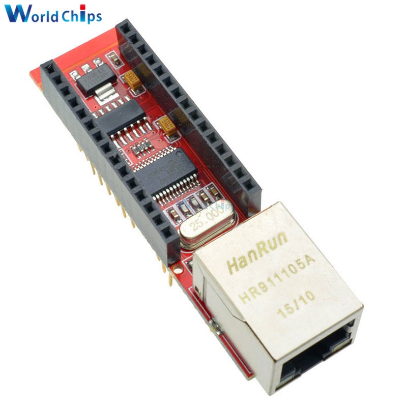 Diymore ENC28J60 Ethernet щит V1.0 Nano 3,0 RJ45 веб-серве�