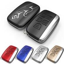 Уникальный дизайн, абсолютно новый 5 кнопок, умный дистанционный Автомобильный ключ, жесткий чехол, чехол для ключи для jaguar, чехол