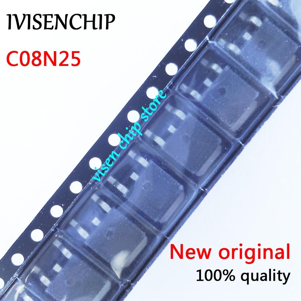 10pcs RCD080N25 C08N25 MOSFET TO-252