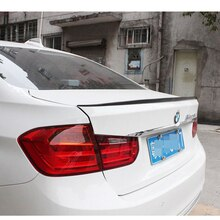 M3 Стиль углеродного волокна задний багажник спойлер для BMW F30 3 серии 328i 320i 328d 320d & F80 M3 2012-2017
