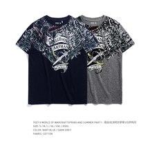 TEE7 Mens t shirt Game WOW Arthas VS Illidan 100% Cotton 3D printed short sleeves  Male Slim Casual Top