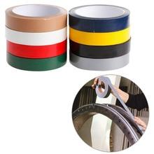 YIKAA Gaffa Gaffer ruban adhésif imperméable   Ruban de réparation de tissu de reliure rouge/noir/bleu/marron/vert/argenté/gris/blanc/jaune