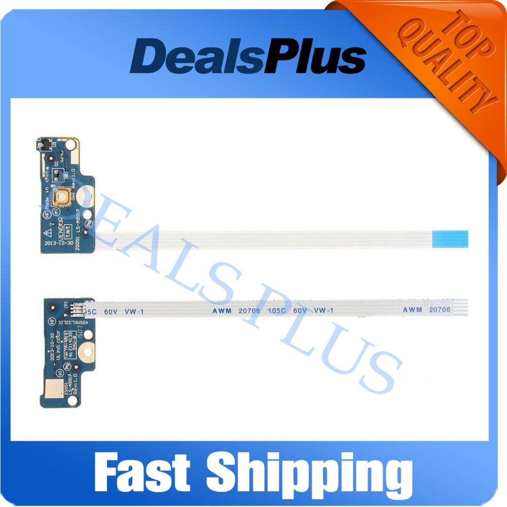 Новый выключатель питания гибкий кабель плата для HP 15-G 15-R 250 256 G3 G4 G5 LS-A991P ZSO51 749650-001 455MKL32L01
