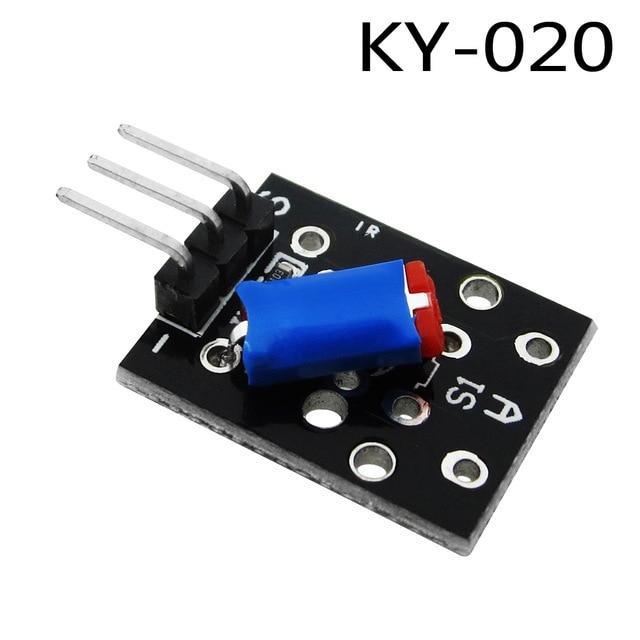 10PCS Smart Electronics 3pin KY-020 Standard Tilt Switch Sensor Module