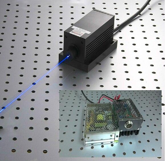 جديد Q-BAIHE 532nm 1000mW مشرق الأخضر ليزر نقطة وحدة مع النظير أو TTL التحوير TEC التبريد 0-30KHZ