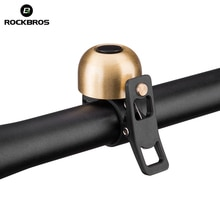 ROCKBROS Cycling MTB Road Bike Bell Ring Aluminium Horn Bike Mini Bell Handlebar Ring Clear Loud Sound Bicycle Accessories