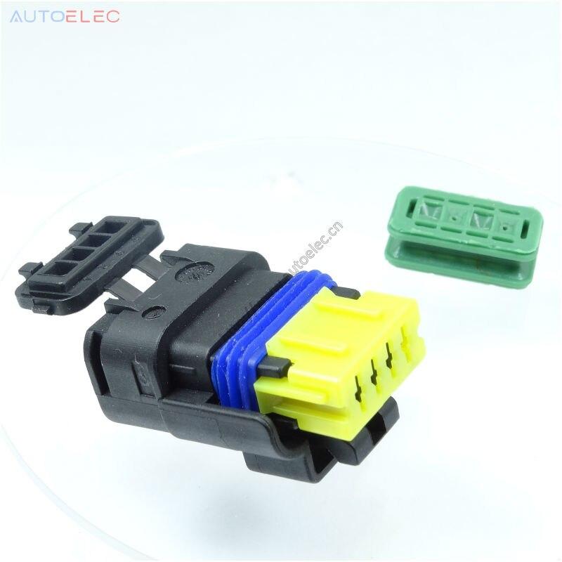 4Pin طريقة السيارات الكهربائية للماء موصل 211PC042S4021 Sicma مختومة موصلات مصغرة مختومة الذكور Sicma 1.5 مللي متر ل FCI