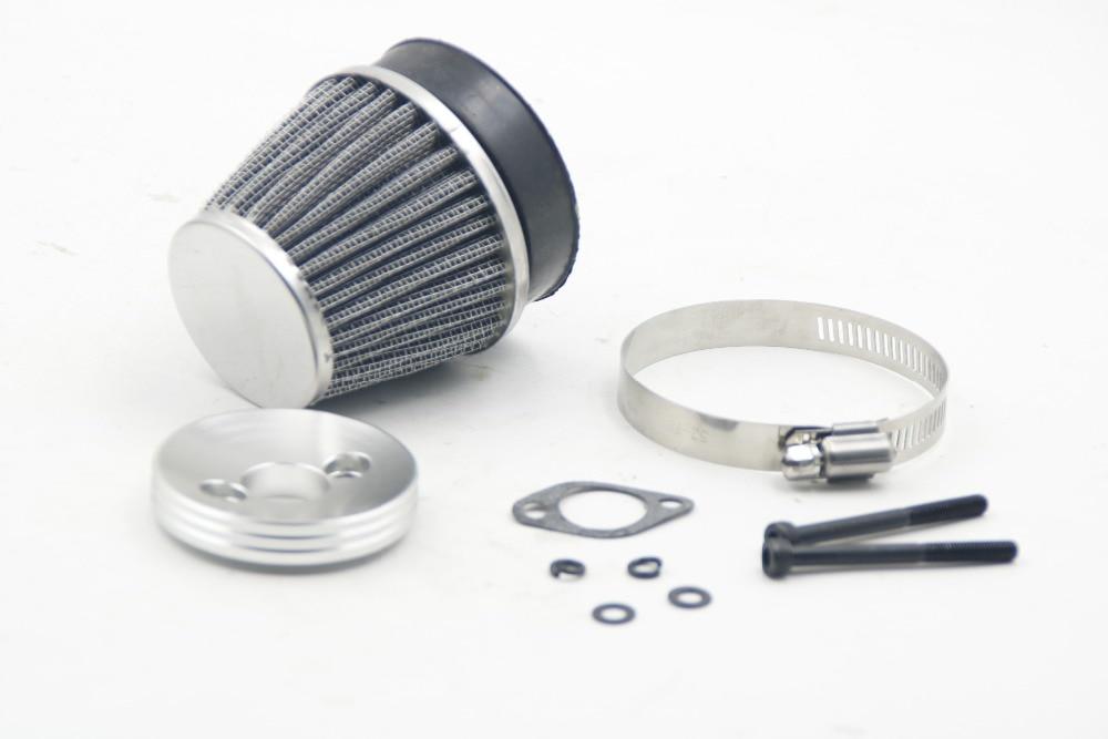 فلتر هواء معدني لمحركات Zenoah ، موديلات CY 23cc ، 26cc ، 29cc ، 30.5cc ، 32cc ، 45cc ، 1/5 HPI ، Rovan km ، Baja 5B ، 5T ، 5SC