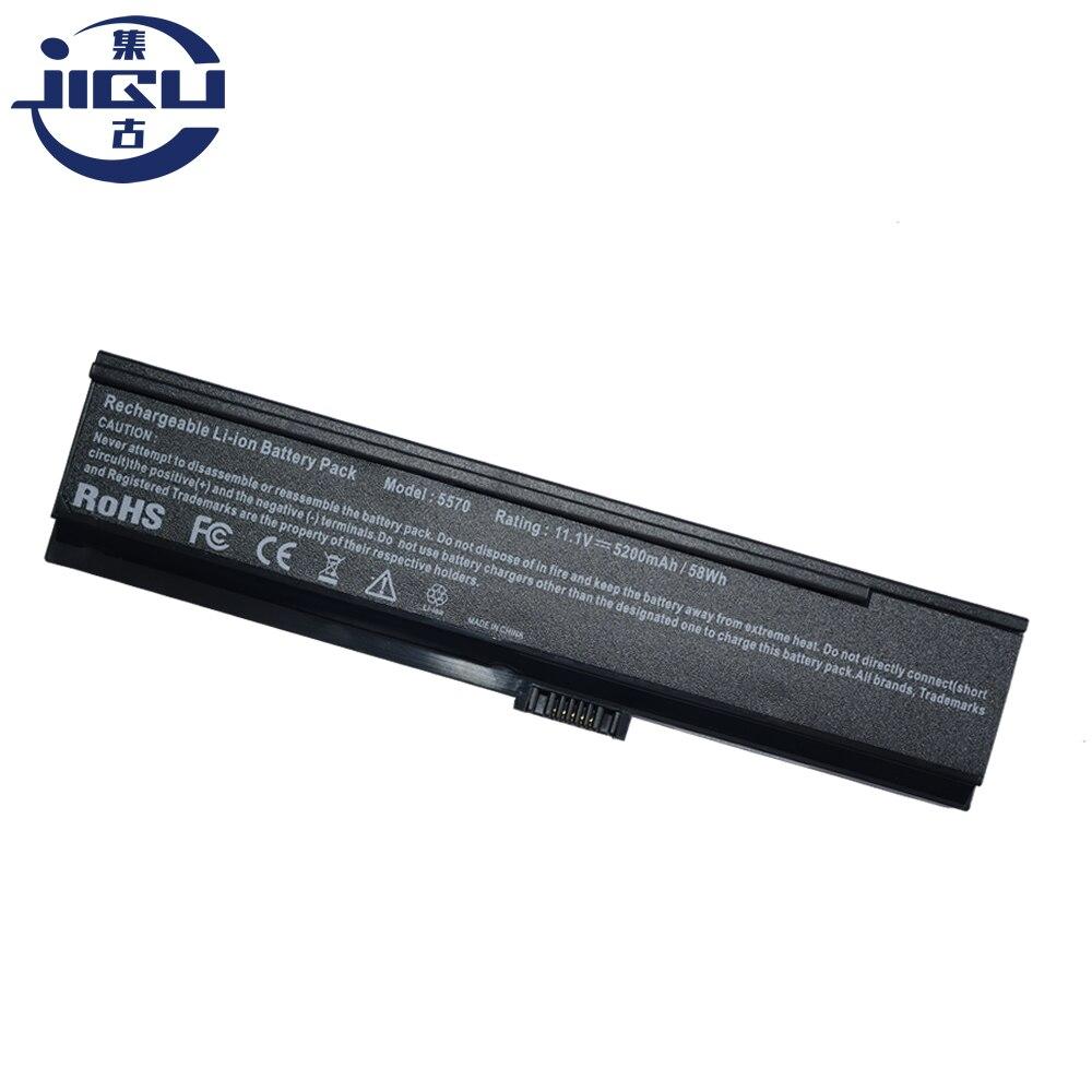 JIGU nuevo 6 celdas de batería del ordenador portátil para Acer Aspire 3030, 3050, 3200, 3600, 3680, 5050, 5500, 5504, 5570 5570Z 5580 negro