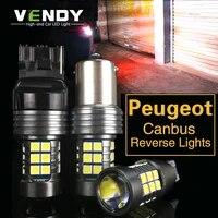 1pcs car led reverse light canbus backup lamp w16w 921 p21w ba15s for peugeot 307 206 301 207 2008 508 301 3008 308 408 4008 608