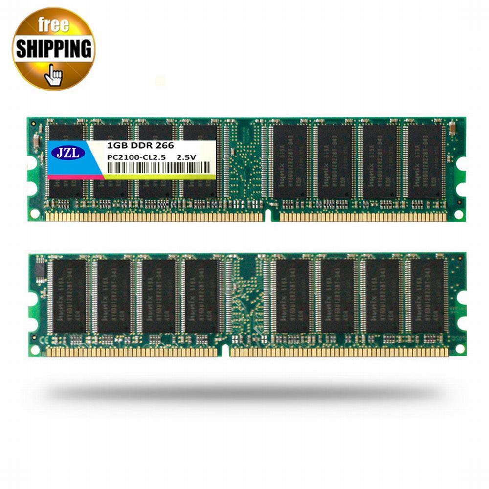 JZL Memoria PC-2100 DDR 266 MHz / PC2100 DDR266 / DDR1 266...