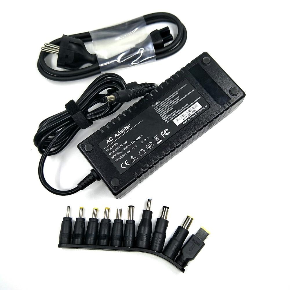 135W universel ordinateur portable adaptateur ca/cc 19V 7.1 A pour les marques telles que fondateur/shenzhen/TCL/ haier/tsinghua tongfang/lenovo/asustek