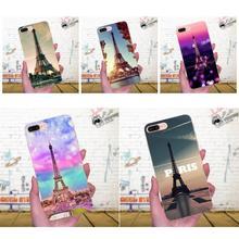 For Huawei P7 Honor 4C 5A 5C 5X 6 6C 6A 6X 7 7X 8 9 V8 V10 Y3II Y5II Y6II G8 Play Lite Soft Case London Eiffel Tower Colors