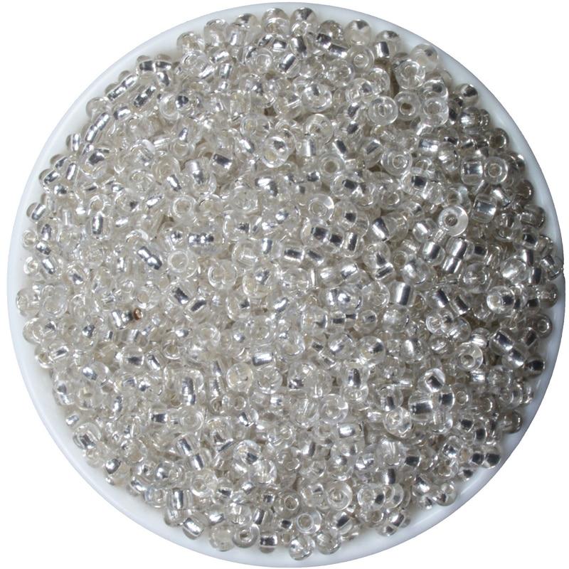 Nuevas 1000 piezas de joyería DIY 3mm Tubo de cristal checo semilla espaciadora cuentas pequeño colgante cuentas de cristal cuenta de semilla de cristal