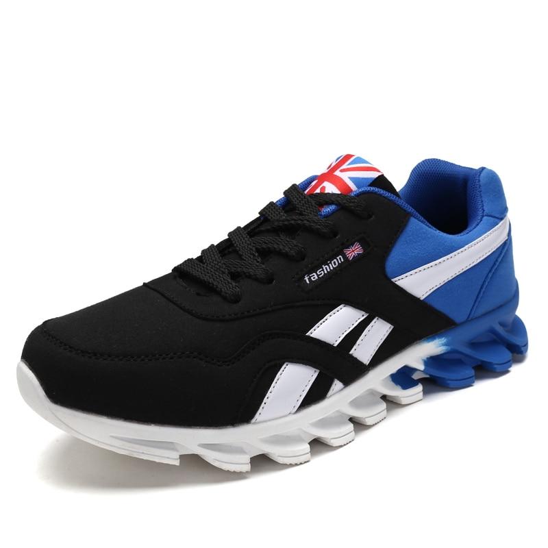 2019 New Men Casual Shoes Breathable Mens Flats Shoes Fashion Shoes Male Lace up British Style Zapatillas Hombre Mesh Shoes