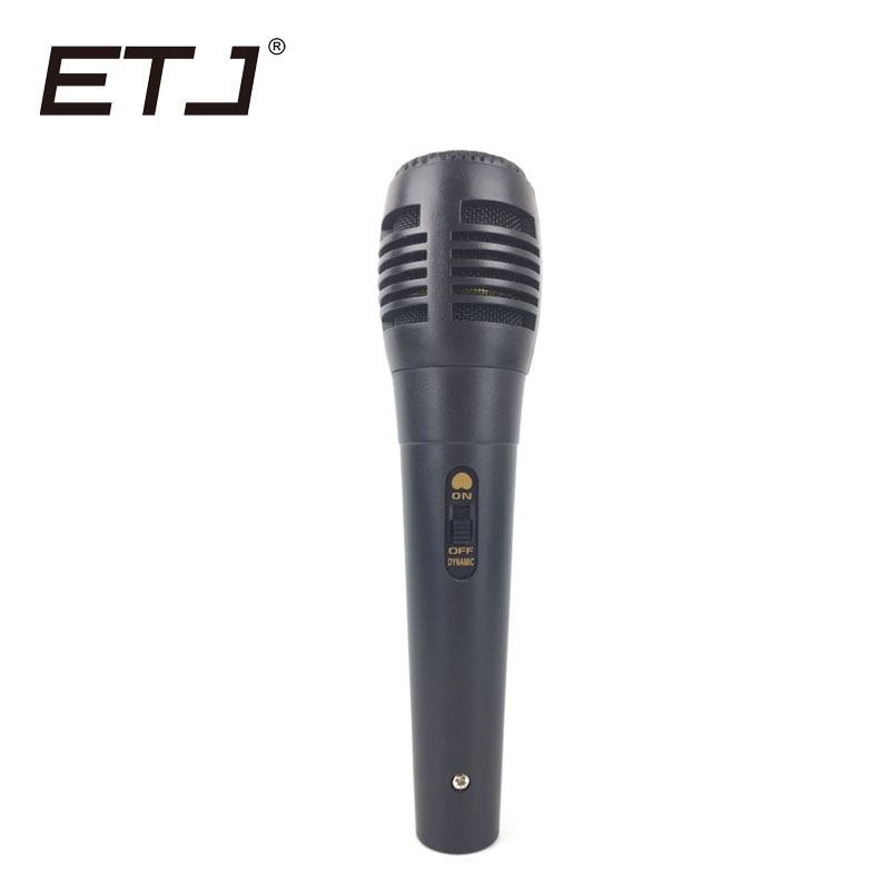 ETJ-interruptor cardioide profesional BT58A, micrófono de mano dinámico con cable Vocal para...