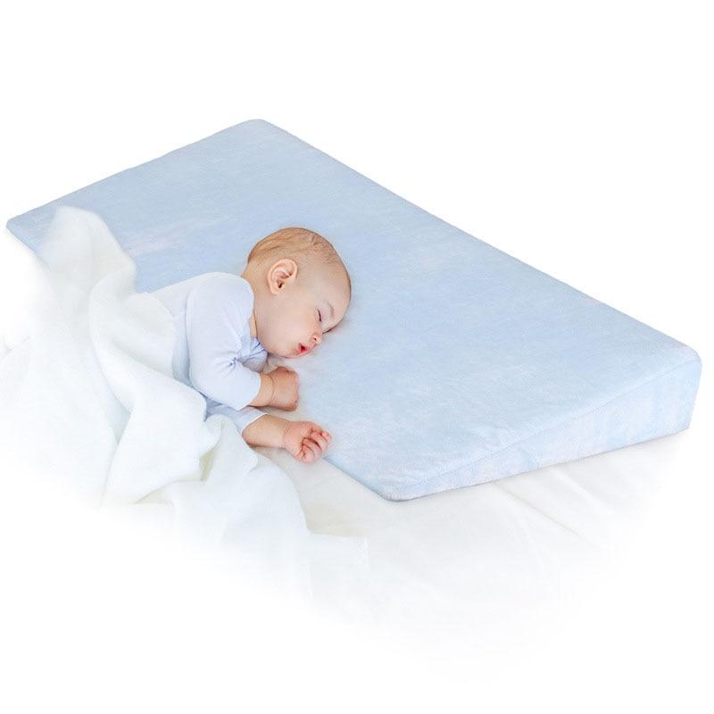 2020 New Baby Sleep Positioner Pillow Anti-Reflux High Incline Newborn Baby Crib Wedge