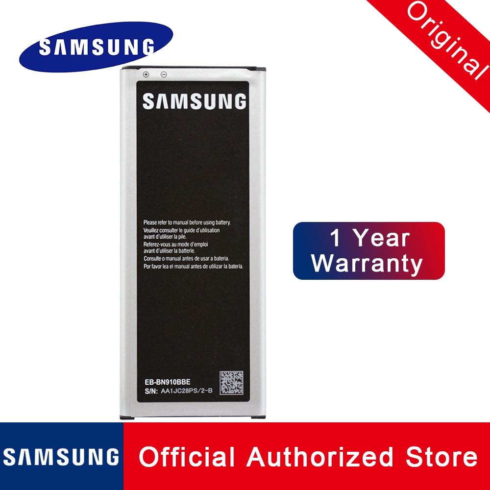 Samsung оригинальный аккумулятор для Galaxy note 4 NFC EB-BN910BBE EB-BN910BBU N910A N910U N910F N910H Замена батареи 3220mah akku