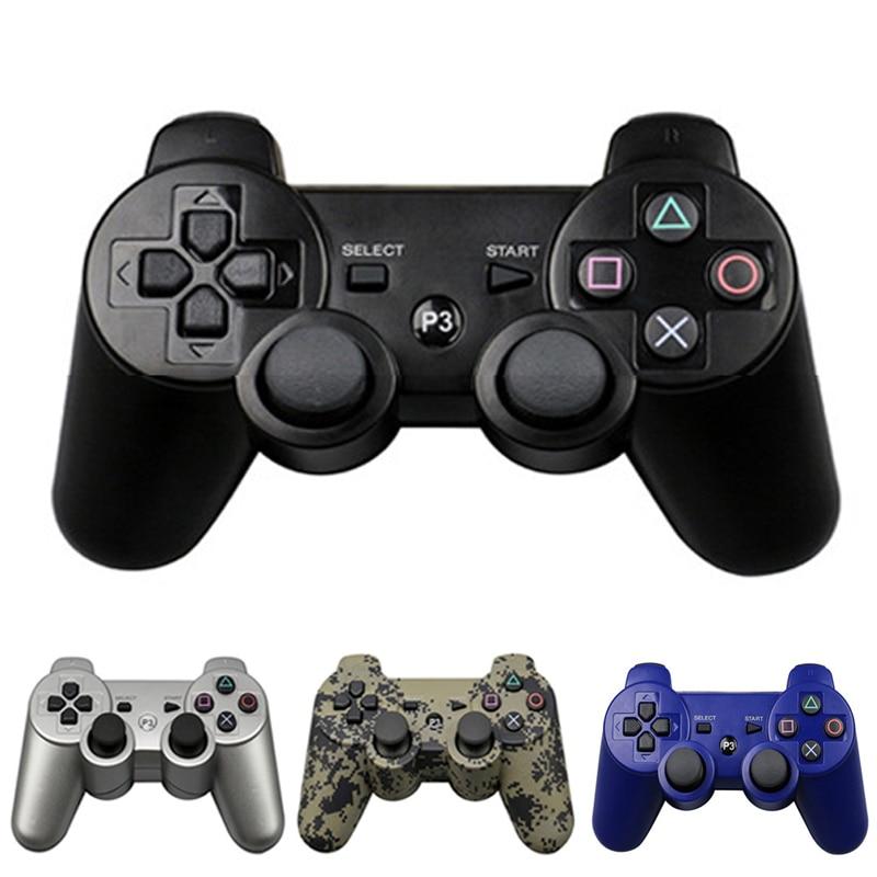 PS3 controlador joystick PS3 Gamepad inalámbrico Bluetooth Joystick para jugar la Estación 3 Joystick para Playstation 3 PC Dualshock Contr