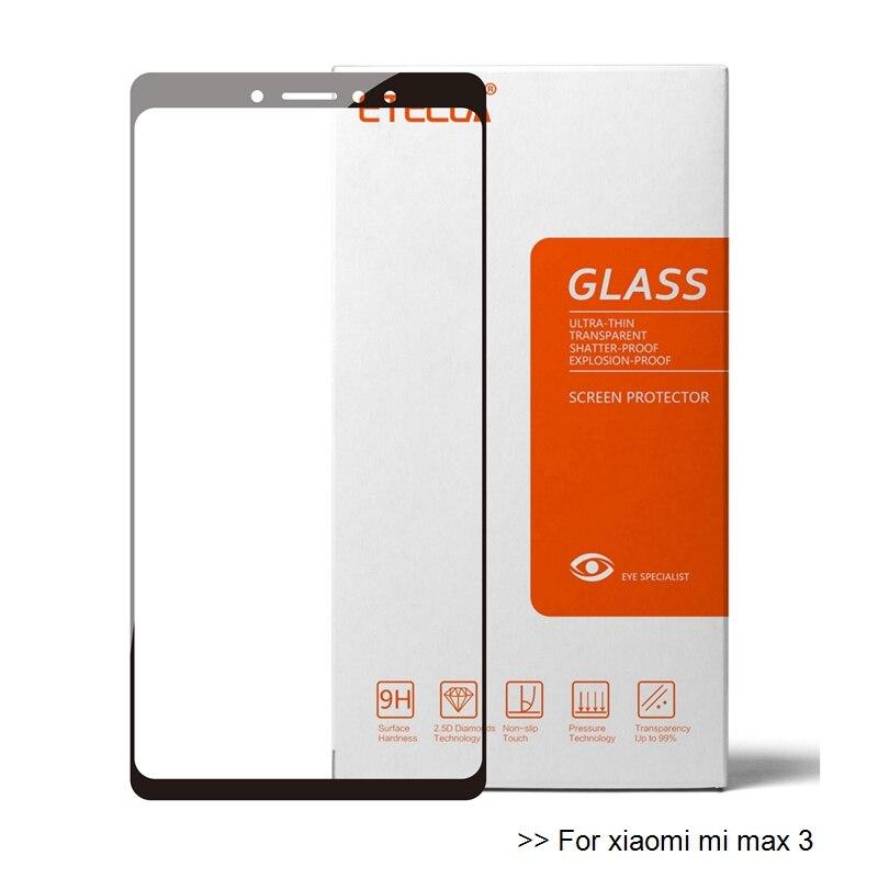 Pour Xiaomi Mi Max 3 verre Xiaomi Mi Max 3 verre trempé sur Xiaomi Mi Max3 protecteur décran verre Premium protecteur 9h Film