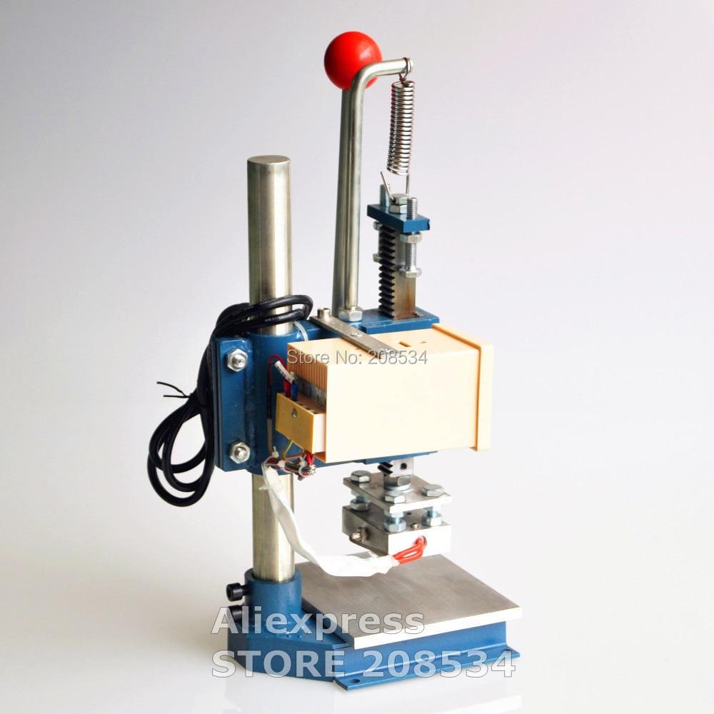 Ручная штамповочная машина, принтер для кожи, машина для сгибания, машина для горячего тиснения фольгой, маркировочный пресс, машина для тис...
