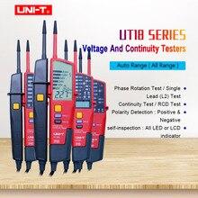 UNI-T  UT18C UT18D AC/DC  Auto Range voltmeter Digital Voltmeter Voltage Tester Pen With LED Indication