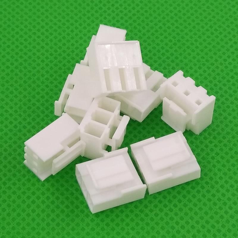شحن مجاني 1000 قطعة الإناث 3.96 مللي متر المواد VH3.96 موصل يؤدي رأس الإسكان VH3.96-Y VH3.96-3Y