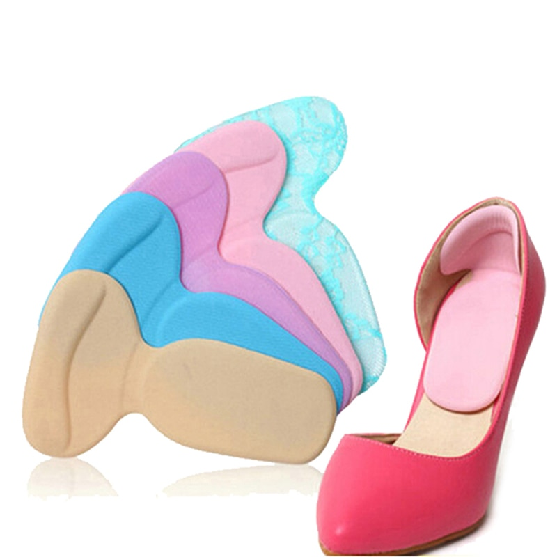 Insert Insoles Soft T-Shape High Heel Grips Liner Arch Support Orthotic Shoes Foot Heel Protector Cushion Pads for Women