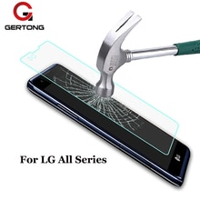 GerTong Temperli Cam Için LG G2 G3 G4 Stylus Mini G5 L70 L90 Nexus 4 5 V10 JOY Ruhu H422 leon Flex 2 Ekran Koruyucu Film