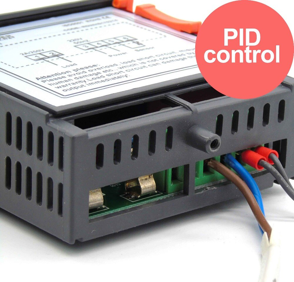 Precisión 0.1C control de temperatura de calor de alta precisión PID control para caja de incubación