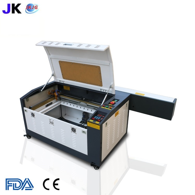 Frete grátis cnc máquina de corte a laser/gravador a laser/co2 cortador a laser 4060/6040 para madeira compensada máquina de gravura venda quente