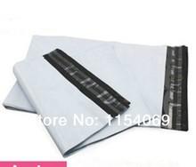 Ücretsiz Kargo 20x34 cm 100 adet/grup Beyaz Ekspres Çanta Poli Mailler Posta Çantası Zarf Kendinden Yapışkanlı plastik torba Posta