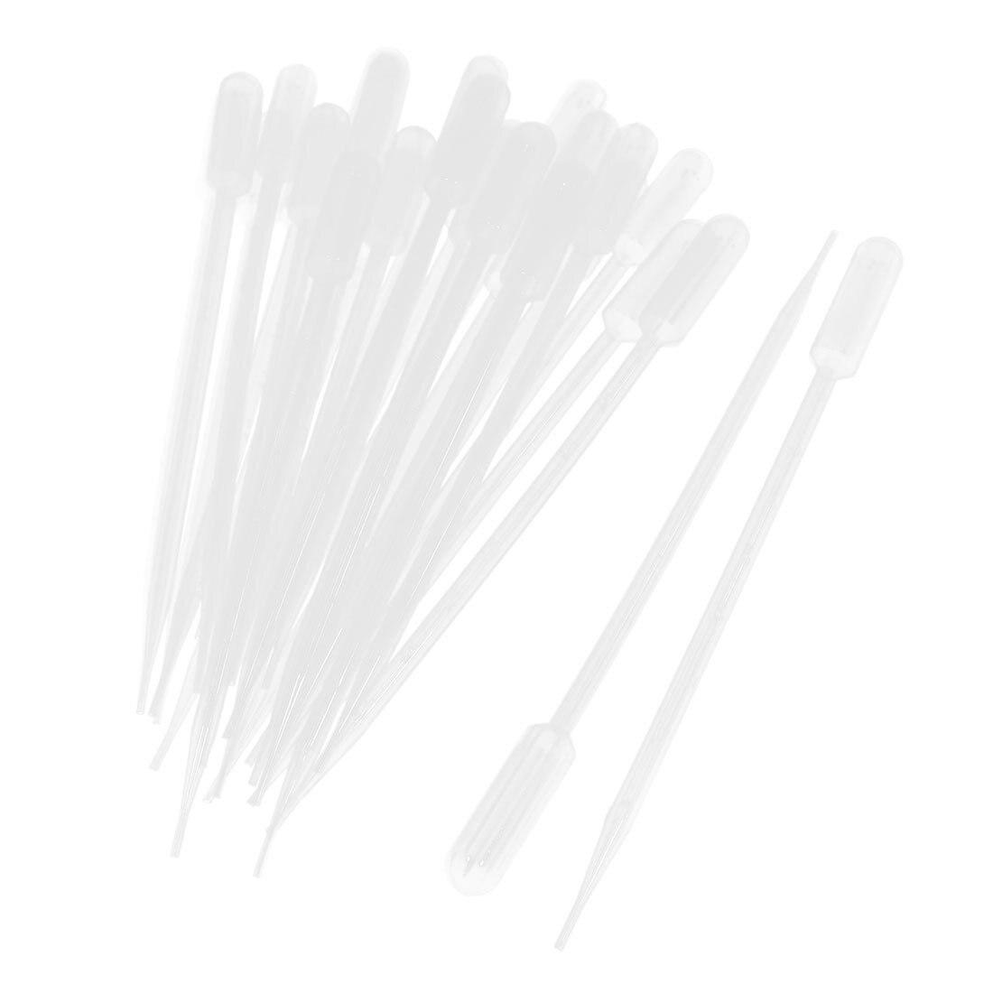 SOSW-50 peças 10ml transferência plástica clara pipet pasteur pipetas conta-gotas