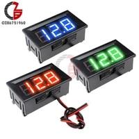 dc 5v 12v 24v 0 56 lcd digital voltage meter voltmeter battery capacity tester detector for electronic mobile power bank