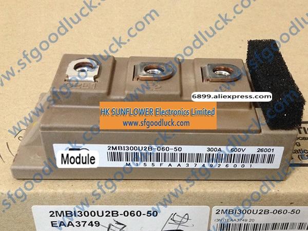 2MBI300U2B-060-50 IGBT tablicy i moduł tranzystor N kanał 600 V 300A