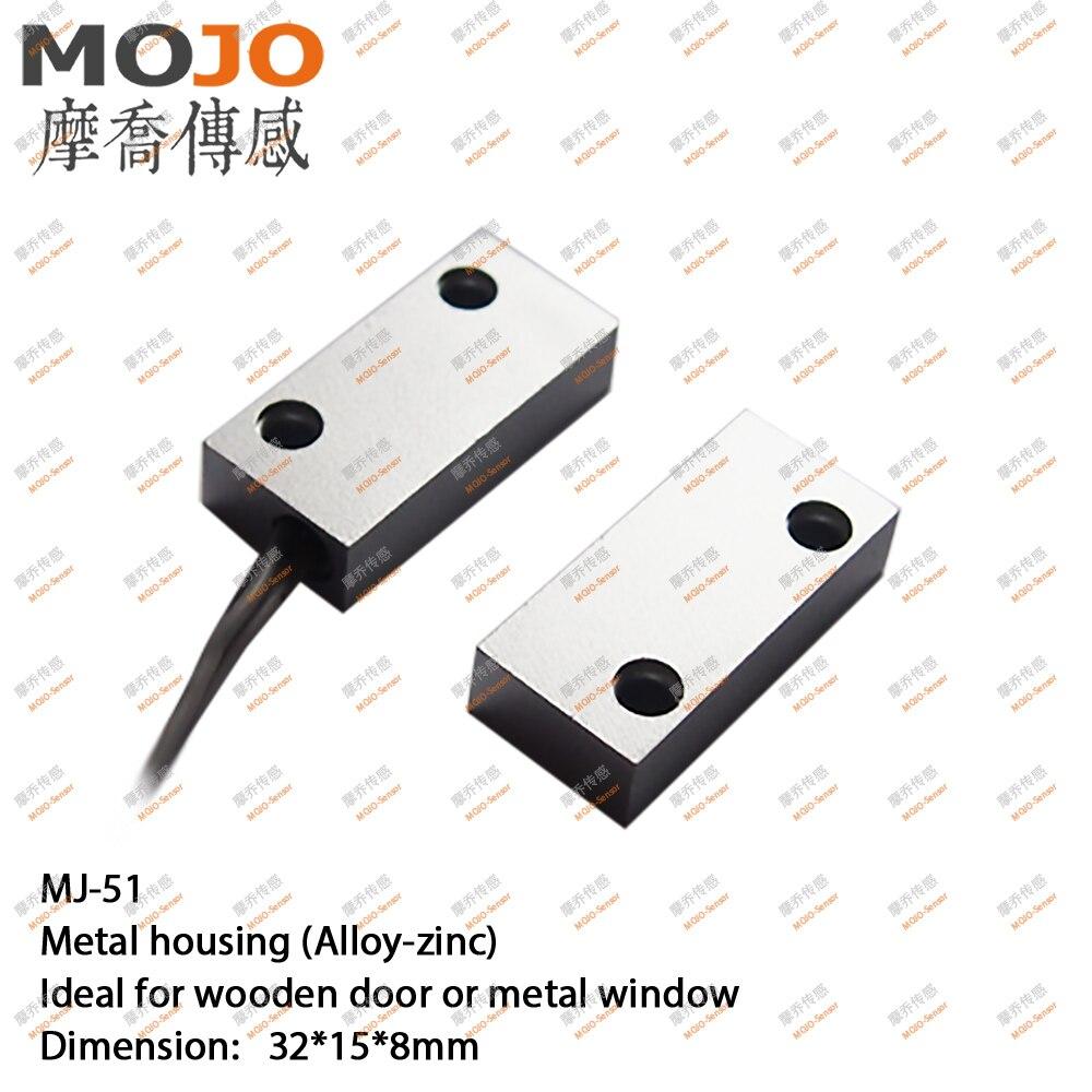 2020 MJ-51 (10 قطعة/الوحدة) معدن نافذة المغناطيس التبديل N.O نوع