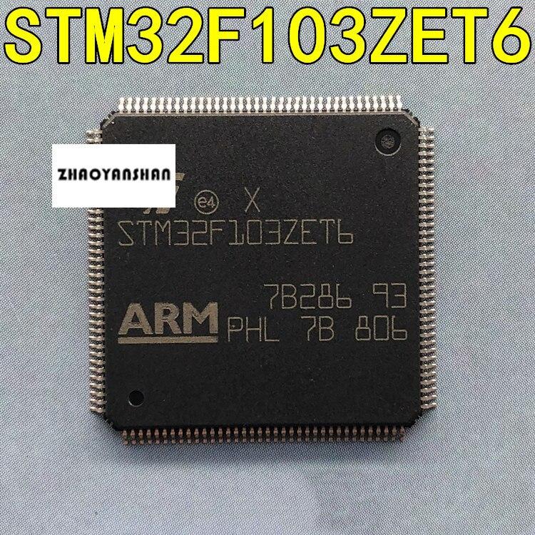 1 piezas X STM32F103ZET6 STM32F103 LQFP-144 Original nuevo envío gratis